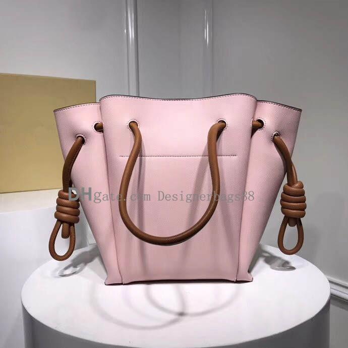 الأزياء حقيبة اسم العلامة التجارية الكبيرة حقيبة الزلابية حقيبة الشريط تصميم الجلود حقائب اليد النسائية حقيقي
