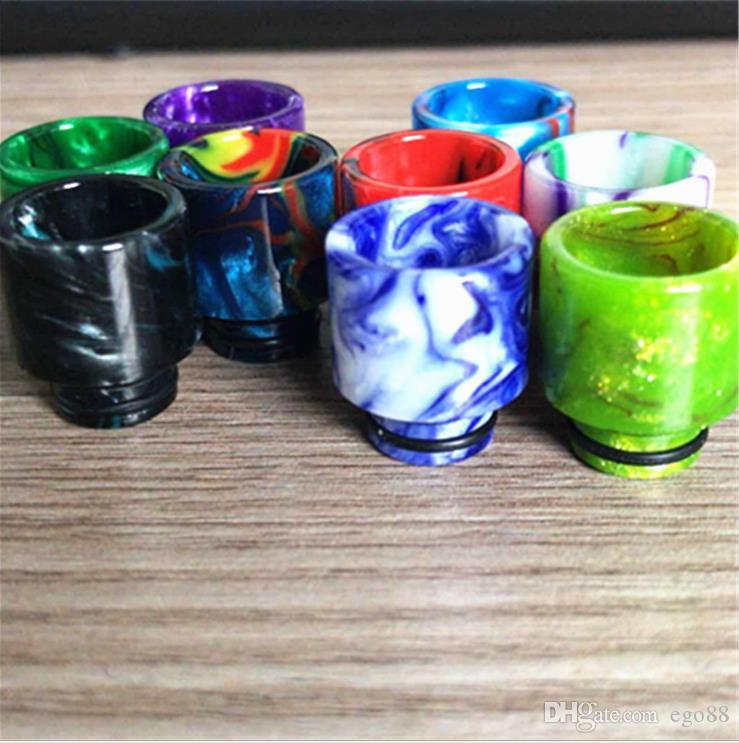 TFV8 810 drip tip Clearomizer Mouthpiece 510 Thread Epoxy Resin TFV8 Big baby drip tips mouthpiece for TFV8 baby TFV12 Cloud Beast Atomizer