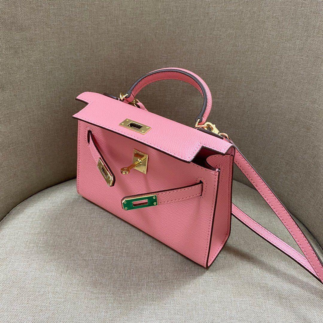 19cm saco sakura mini tamanho senhora bolsas de couro sacos de couro ombro rosa 00 Bloqueio cavalo de bolsa com lenço genuíno mulheres de alta qualidade mpaw