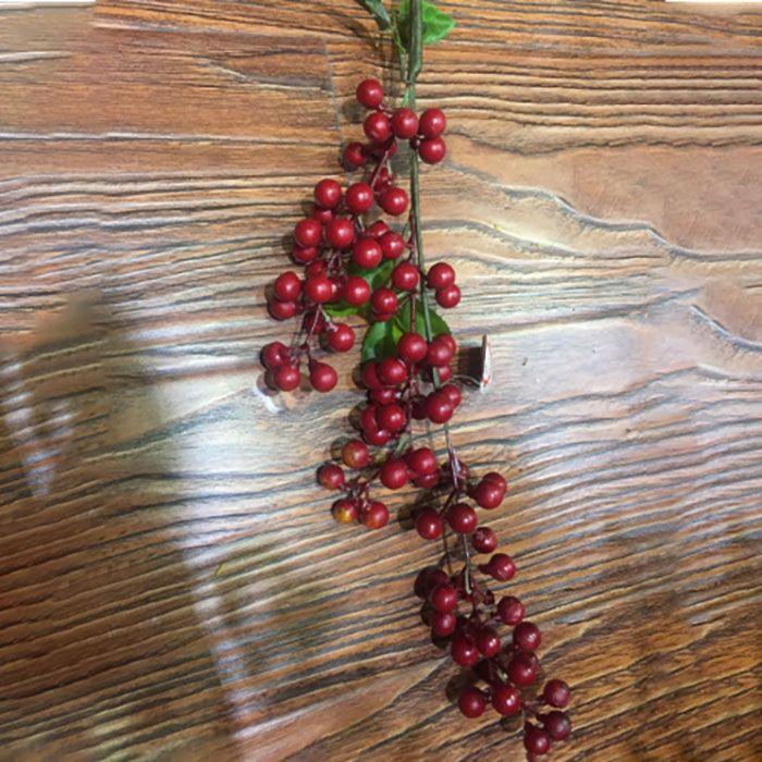 الزخرفية زهرة الاصطناعي بيري هولي فرع ل جودة عالية diy مهرجان الحلي شجرة عيد الميلاد ديكورات الزهور
