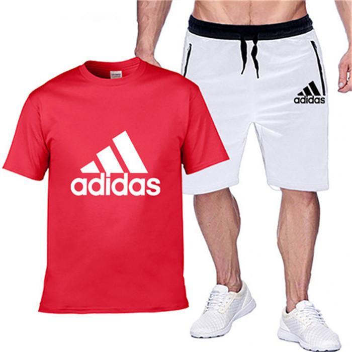 Las mercancías de deporte de verano de manga corta suéter del basculador 2020Mens diseñador de moda chándal Cartas bordado de lujo juegos de pantalones Sportsuit126