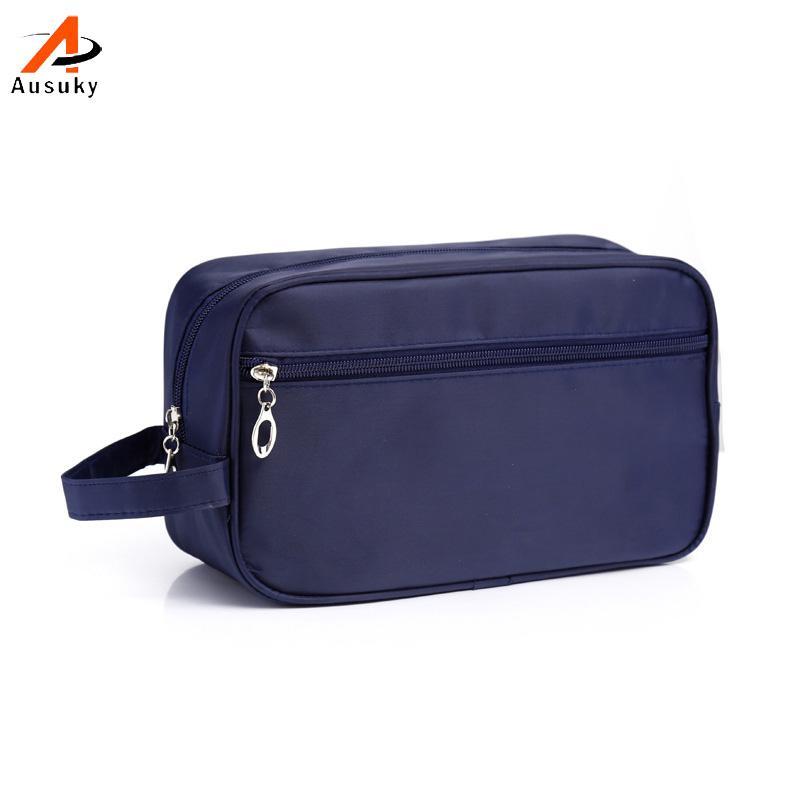 Kits de aseo impermeable hombre unisex cosméticos bolsa de viaje cosméticos portátil Bolsa Trousse De Maquillage Necessaire Mujeres