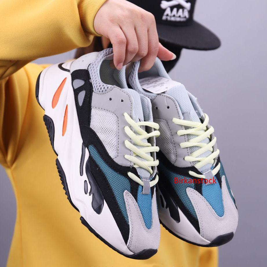 Dalga Runner Spor Ayakkabıları Moda Sneakers Ayakkabı Koşu 2019 Kanye West 700 Statik Tasarım Ayakkabı 700s