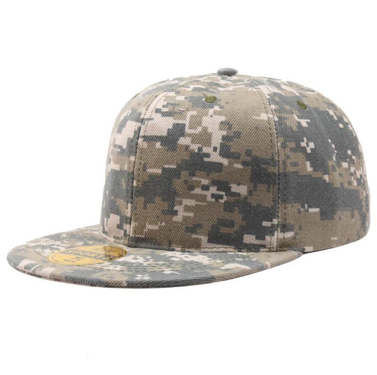 Unisex Yeni Moda Erkekler Kadınlar Beyzbol Snapback Şapka Ayarlanabilir Şapka 3 Renkler Hip-Hop Kamuflaj Caps Caps