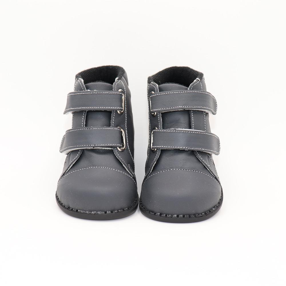 Tipsietoes Marque De Haute Qualité En Cuir Couture Enfants Enfants Doux Bottes École Chaussures Pour Garçons 2018 Automne Hiver Neige Mode J190508