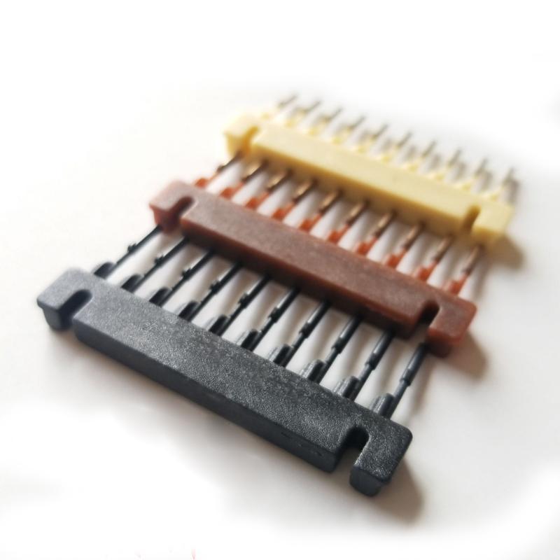 6D الشعر التمديد الجيل الأول آلة والجيل الثاني من المنتجات اكسسوارات اعتلى الأسود براون شقراء 40pieces لكل صندوق