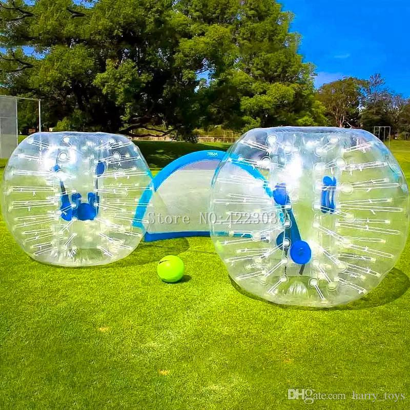 Free Shipping Hot Selling 1.2m Zorb Ball For Kids 0.8mm Bubble Football Human Hamster Ball Bubble Soccer Zorb Ball