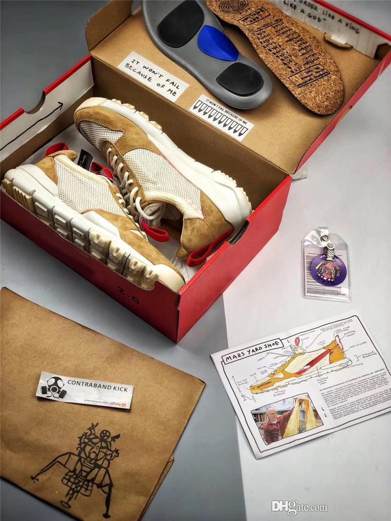 2018 per SACHS limitato AA2261-100 Authentic Mars Yard 2.0 Sport X Shoes Shoes Craft Sneakers originali con Tom Box Uomo RFKDF