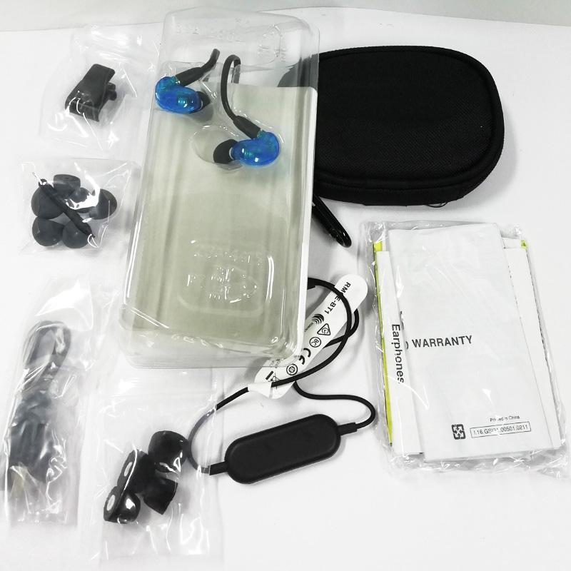 YENI SE215-BT1 Kablosuz Bluetooth Kulaklıklar Efsanevi Performance Spection Edtion Earphones Bluetooth Etkin İletişim Kablosu