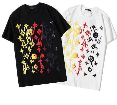desgaste Louιs Vuιtton ocio de la manera camiseta de Hip Hop Hombres Mujeres camiseta de las mujeres de manga corta de la moda oso decapitado