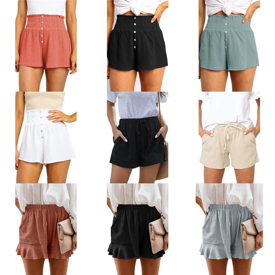 2020 Hot Sale Summer Casual Shorts Women Cotton Fashion Womens Plus Size M-3Xl Slim Straight Male Shorts Ht-609 #332