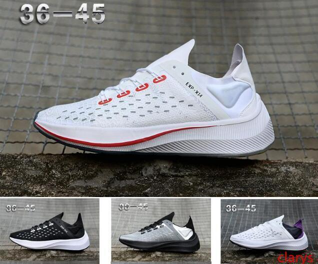 commercio all'ingrosso 2019 Nuovo Zoom Fly EXP-X14 Wmns PEGASUS 35 Tapered tacchi Casual Confortevole 36 traslucido uomini runningg scarpe Donna Sport Sneakers