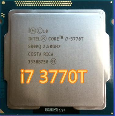 Intel Core i7 3770T i7-3770T 2,5 GHz 8M SR0PQ 45W Dört Çekirdekli masaüstü işlemcileri Bilgisayar işlemci Soket LGA 1155 pinli scrattered
