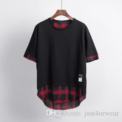 Дизайнерская мужская футболка Fashion Patchwork Спортивные футболки Slim Comfort Футболка Хлопок Мужские тренды Качество