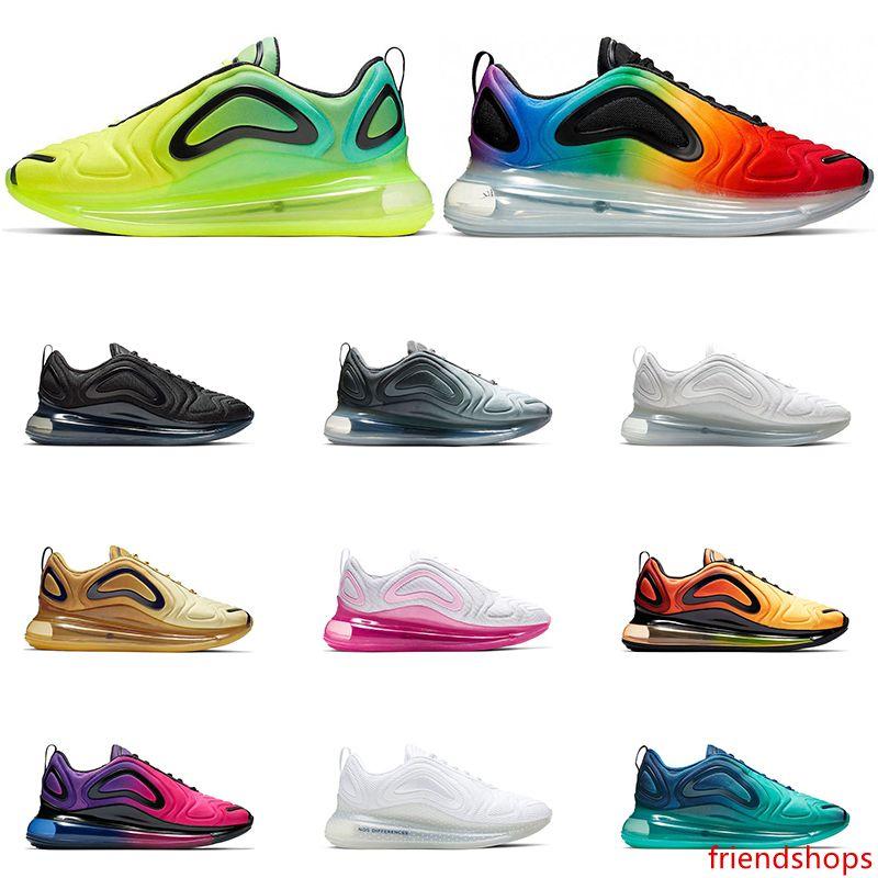 2019 Nouveau arrivel hommes chaussures de course Multicolore Blanc VOLT fierté être vrai L'Université Rouge Respirant Femmes Formateurs sneakers Sport Taille 36-45