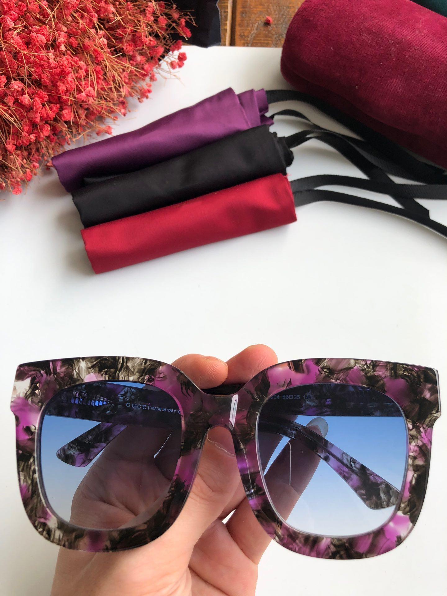2019 Populaire 0208S Lunettes De Soleil De Luxe Femmes Designer 0208 Ovale Été Style Rectangle Plein Cadre Top Qualité Protection UV