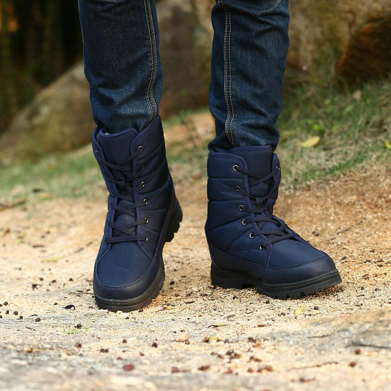 Style Men Boots High Top Wear Resistant