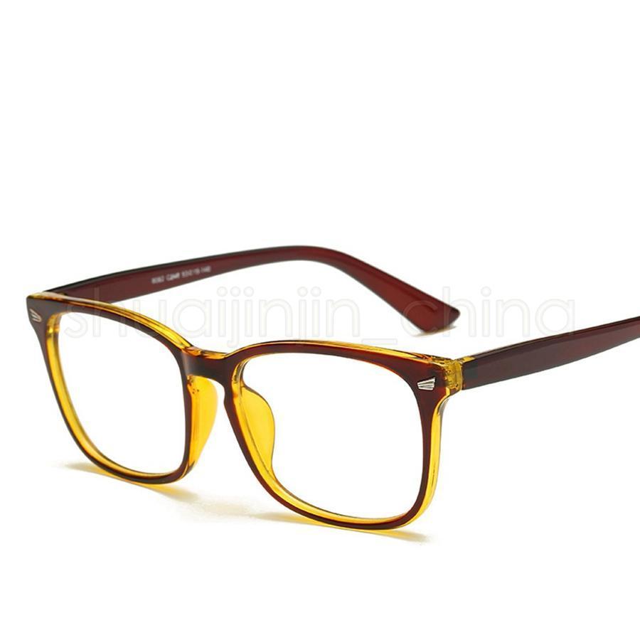 الرجعية ساحة النظارات البصرية كلاسيك كامل الإطار رجل إمرأة الحاسوب واضح نظارات نظارات للجنسين نظارات القراءة LJJT-1030