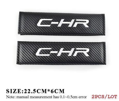 2 pcs Cas De Style De Voiture Pour Toyota CHR Corolla Camry C HR Yaris Auris C-HR Estima Souhaite Auto Badge Accessoires Car-Styling
