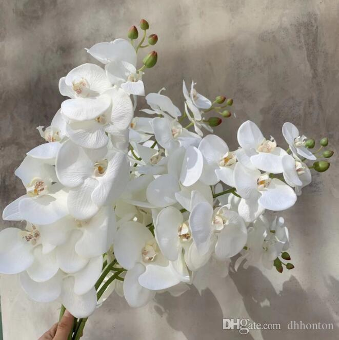 2020 Hot Sale Artificial Butterfly Orchid Flowers 3d Printed Moth