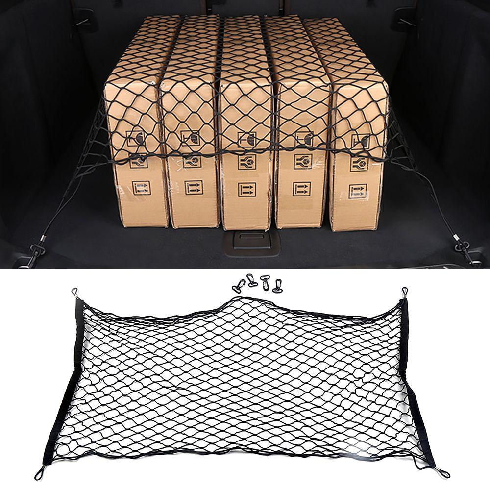 Car Accessories Trunk Net Storage Mesh Organizing Organizer Bag Stowing Tidying Decoration for BMW 1 3 5 7 Series X1 X3 X4 X5 X6