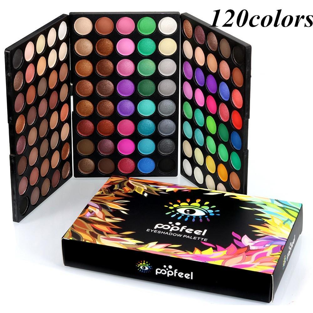95 cores Comprehensive Eye Professional Sombra Makeup Palette Pearlescent Matte High Light Multi-Function Não Blooming # L30