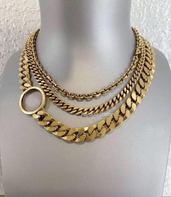 Мода письма цепи ожерелье браслет для мужских и женщин вечеринки влюбленные подарок подарок хип-хоп ювелирные изделия с коробкой