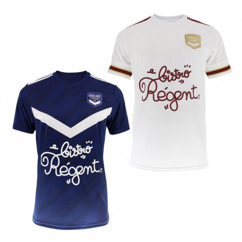 Kit de niños Girondins de Bordeaux maillots de foot 2020 camisas 21 OUDIN jersey de fútbol BRIAND S.KALU Kamano DE BENITO Préville Fútbol