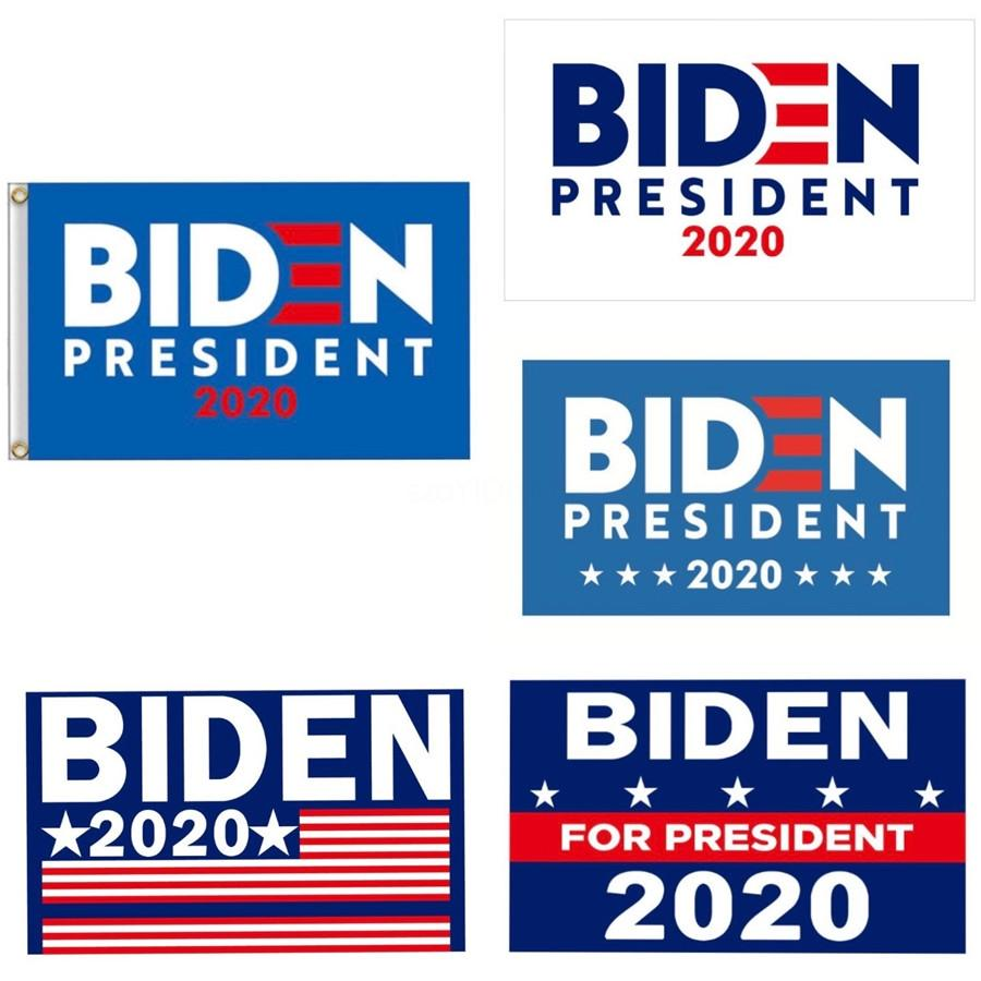 90X150Cm Biden American Flag Keep America Great 2020 Terylene Biden Banner No Flagpole Celebrate Flags Parade Decoration An3095#624