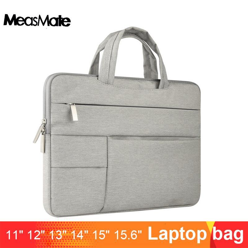 Laptop Sleeve Bag for Macbook Air 13 Case Nylon Laptop Case 15.6 11 14 15 inch Bags for Men Women Zipper Unisex Backpack SH190924