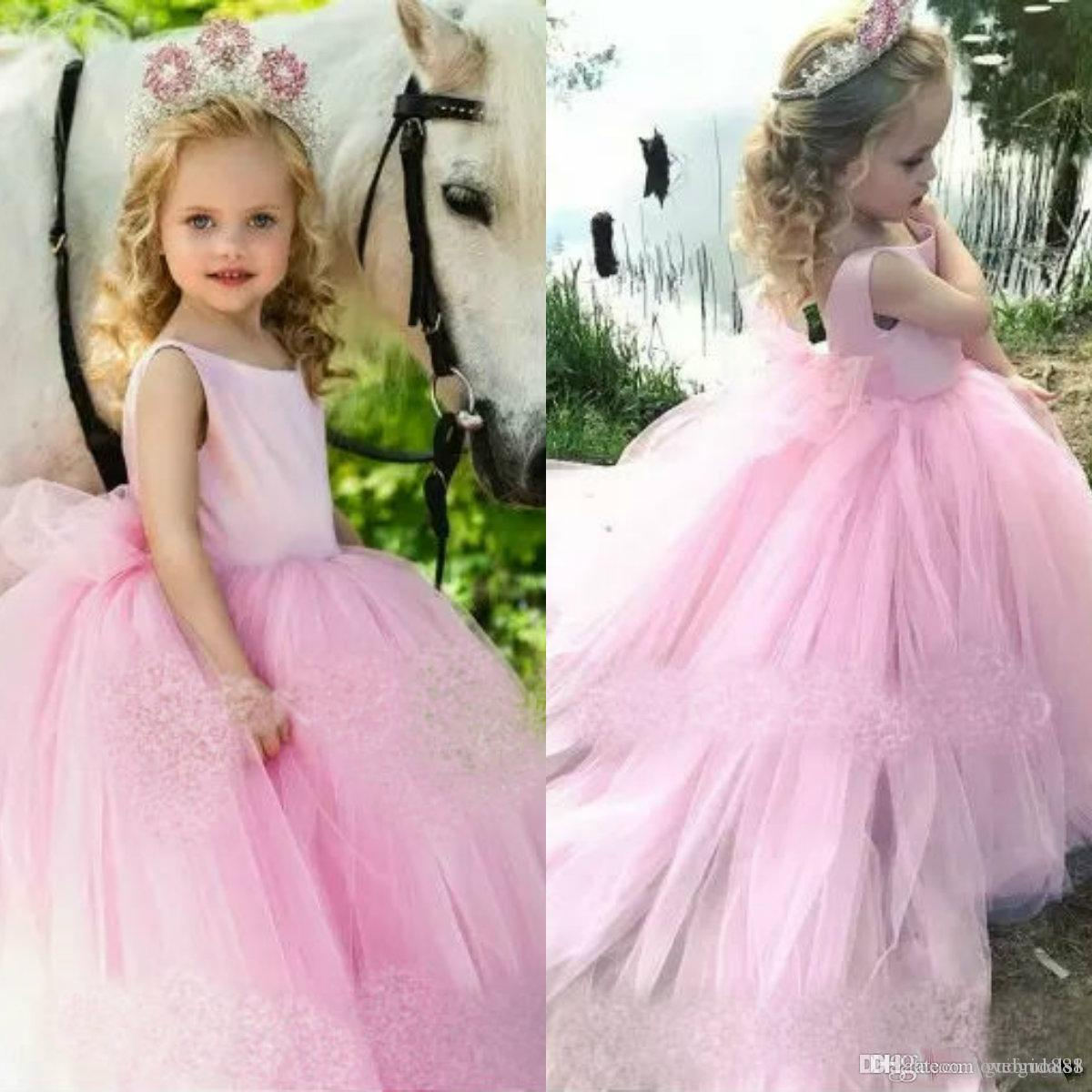 Vestidos da menina de flor vestido de festa de casamento vestido de baile princesa pageant crianças ocasião formal crianças dress party girl vestidos