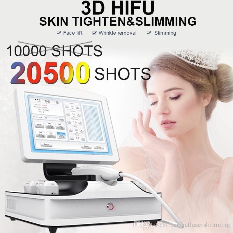 2020 Best 3D HIFU Face Lift machine non surgical wrinkle removal Skin Lifting Ultrasound HIFU Skin Rejuvenation Anti Aging Equipment