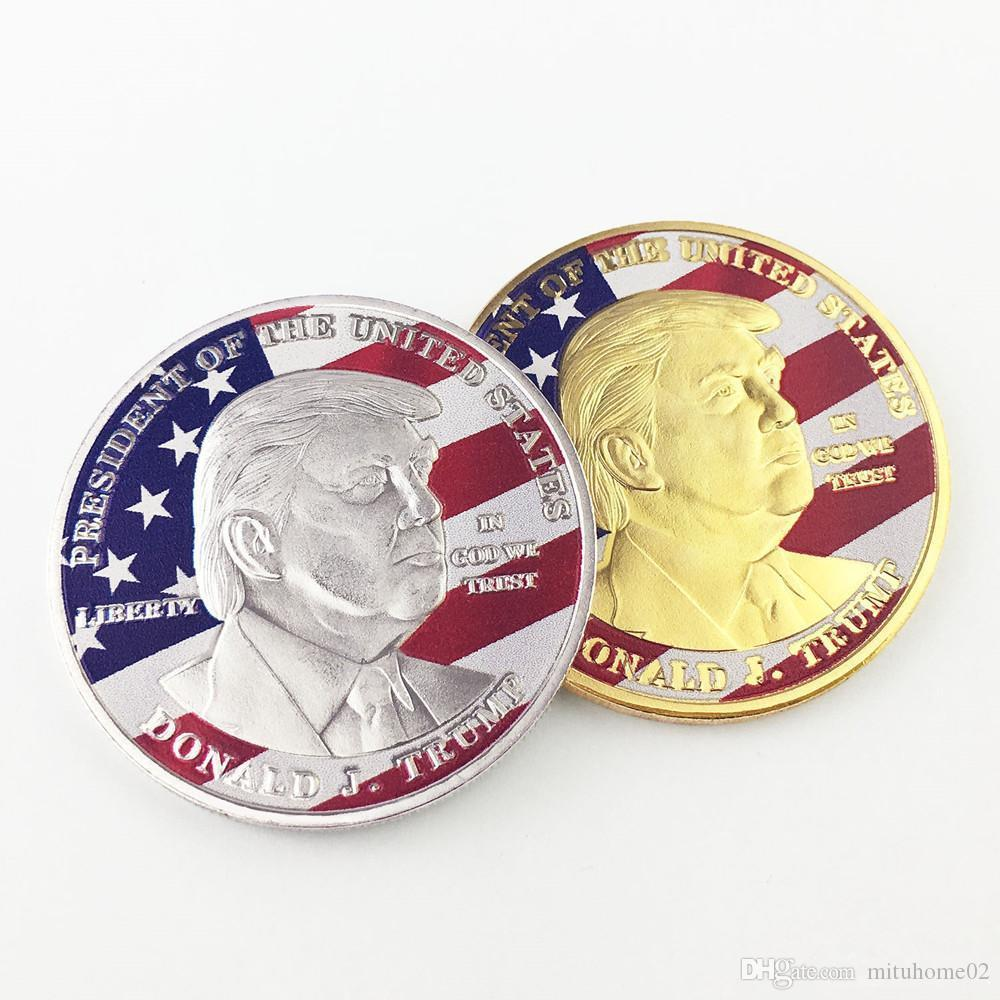 1 X Donald Trump Eagle Coin Make America GREAT Again 45th President USA Liberty