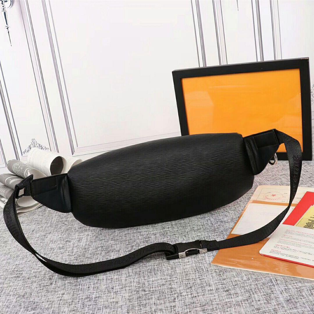 mens moda marsupio progettista della cinghia di lusso borsa sac banane progettista Fannypack pelle bumbag crossbody borse torace borse mens del progettista bag