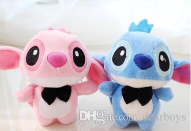 Hot sell Stuffed Animal Plush Toys Star Trek Baby Stitch Doll 4 Inch Catching Doll Plush Toys For Children