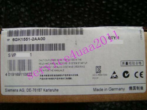 NEW Siemens PLC 6GK1 551-2AA00 3 месяцев гарантии