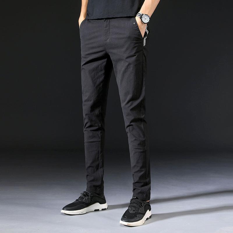 Mrmt 2019 Marque Automne Nouveau Pantalons homme Pantalons simple Pantalons pur coton pour Homme long pantalon