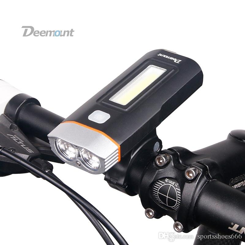 420LM 3 Mode Bike Front Light Bicycle LED USB Rechargeable Head Light Lamp New
