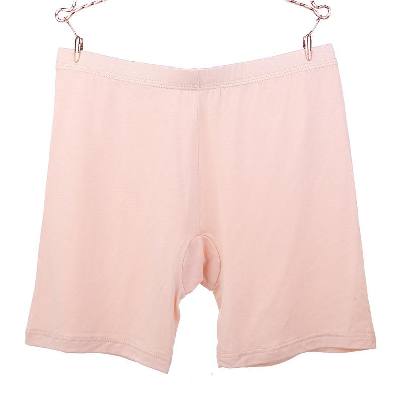 3xl 4xl más modal tamaño de los pantalones de seguridad las mujeres bragas invisibles ropa interior de algodón más el tamaño de cintura alta bragas 3XL sin fisuras