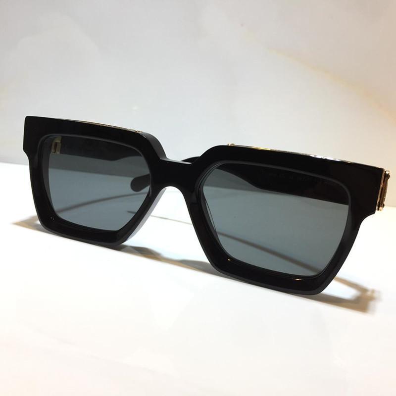 Gold Top CQDA Hot Vintage Vintage Touches de soleil complètes 1.1 1165 Millionaire 96006 pour Unisexe pour lunettes de soleil brillantes Vendre des femmes plaquées or Qualité Me Atig