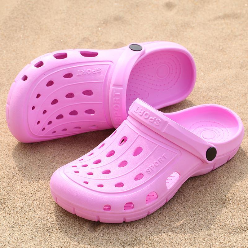 Original Classic Clogs Garden Flip Flops Water Shoes Women Summer Beach Aqua Slipper Outdoor Rubber 2019 Sandals Gardening Shoes