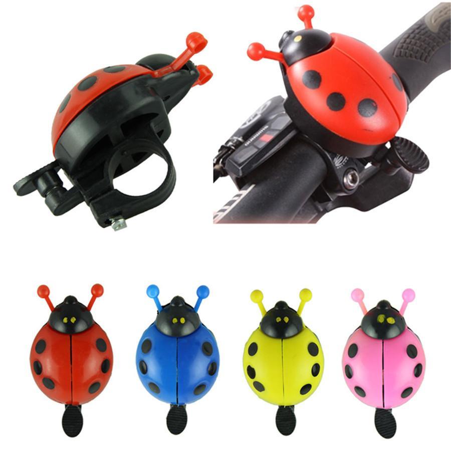 Drôle cloche de vélo sonnette de bicyclette nouvelle cloche cycliste ladybug anneau de vélo de sport de plaisir en plein air
