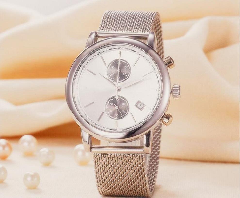 hot venda 43 milímetros Automatic Mens Movimento Relógios Transparente cobertura total Homem de Aço Inoxidável Luminous Negócios Mens relógio de pulso