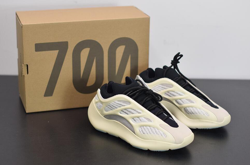 kanye 700 v3 sapatos Azael Alvah mens 700 v3 Sapatas Running Designer Kanye west brilham desenhador escuro homens as sapatilhas das mulheres com caixa