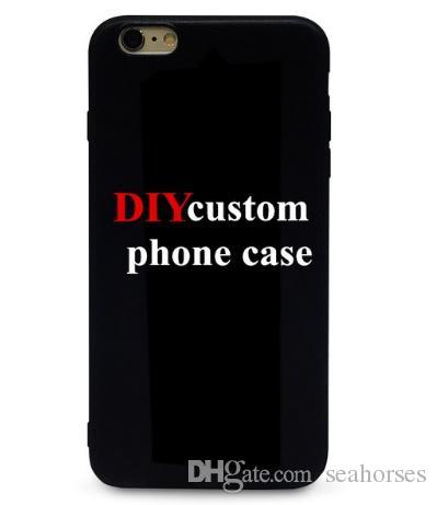 Özelleştirilmiş Logo Telefon Kılıfı Için özel kılıflar 6 7 xr xs max Samsung Galaxy S6 S7 Kenar S8 S9 Artı DIY Vaka