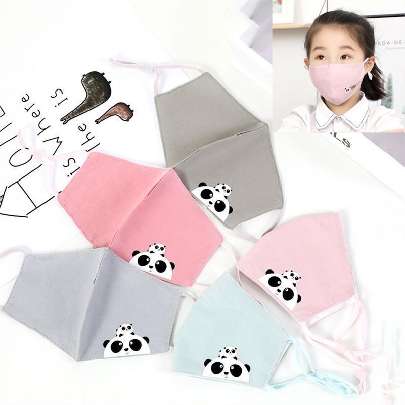 DHL Wiederverwendbare waschbar Baumwolle Mund Entwurf Gesichtsmaske Abdeckung Respirator Anti-Staub-Designer Gesichtsmaske Leinen Maske