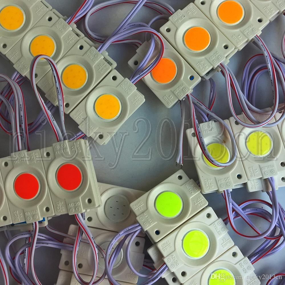 Ultra fino 12 V LED Módulo Luz Lâmpada Lâmpada De Lâmpada 1w Injecção Molding Circular Circular IP65 Impermeável Para Sinal de Letra de Windw Front