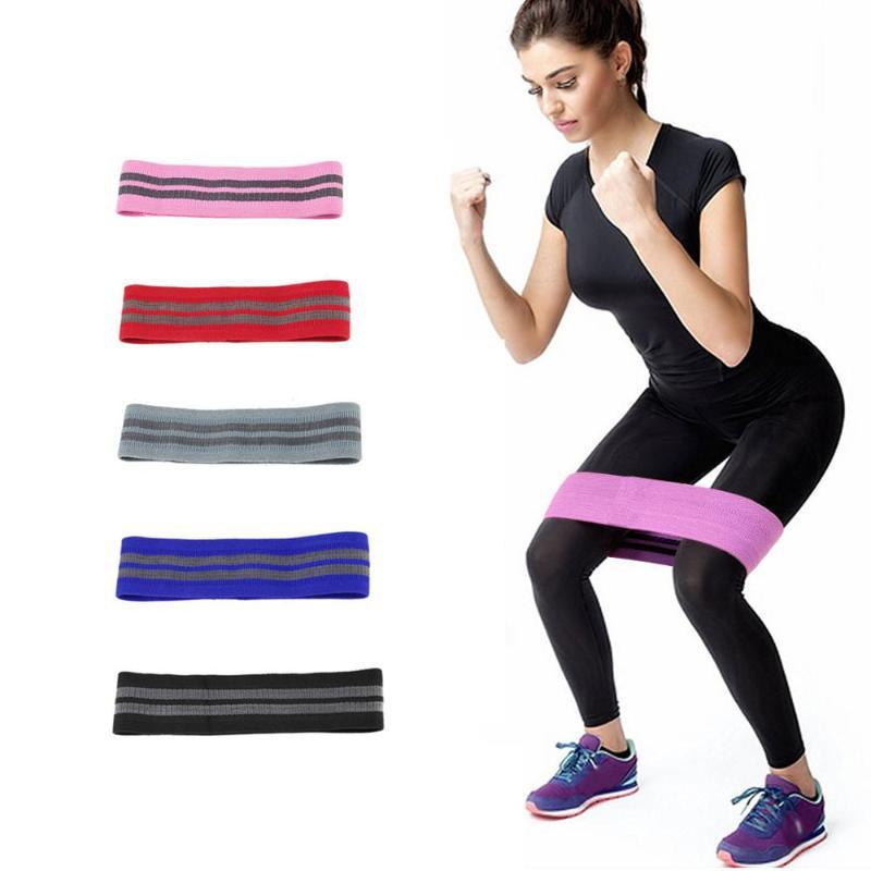 Unisex Booty Band Hip Circle Loop Resistance Band Workout Exercise for Legs Thigh Non-slip fitness elastic Bands for yoga sport