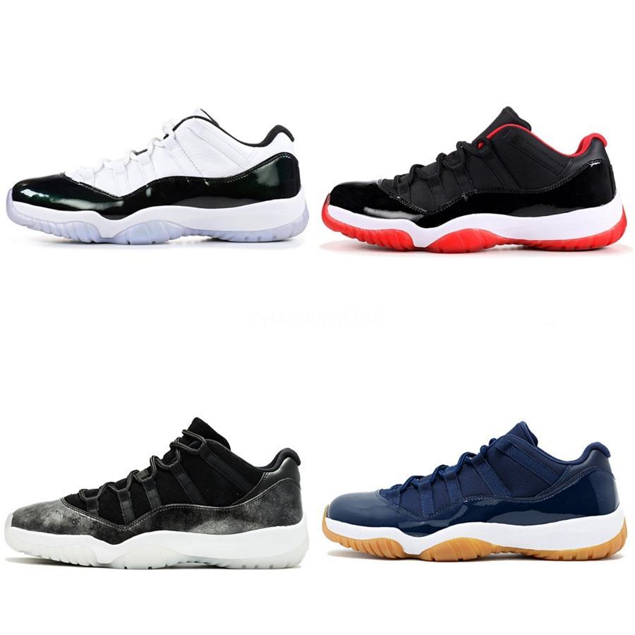 Дешевые 11s баскетбольная обувь легкая атлетика кроссовки Кроссовки мужчины мужчины спортивный Факел Заяц игра Royal Pine Green Court Low Low Jumpman Chauss#767