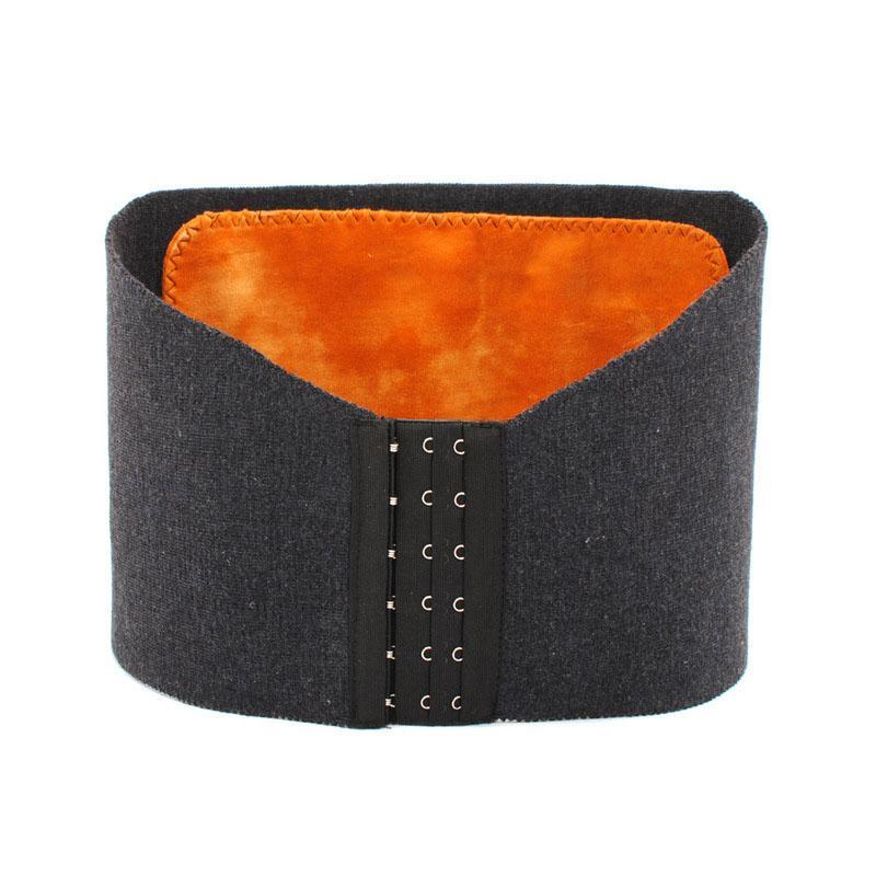Lana 1pc pretina del invierno de la cachemira Deporte Espesar ajustable proteger el estómago Cinturón Brace Promover la inmunidad Metabolismo ayuda de la cintura